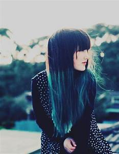 ombre turquoise hair extensions | YOLO | Pinterest