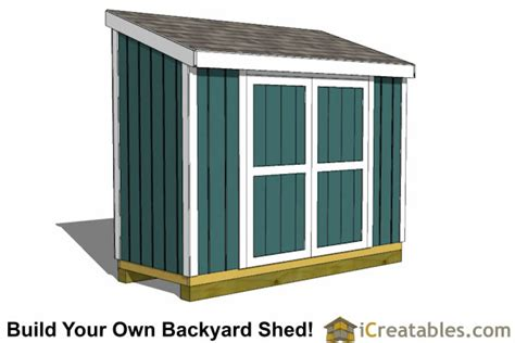 4x10 shed plans 4x10 storage shed plans icreatables