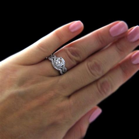 wedding and engagement ring set 25 best ideas about wedding ring set on wedding ring wedding band sets and