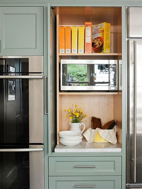 Your kitchen remodeling specialists for 37 years! Disappearing Microwaves   Centsational Girl