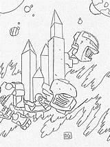 Fallout Coloring Armor Power Template Imagixs Credit Larger sketch template