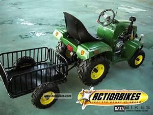 2011 Children Tractor Trailer With 110 Cc 4