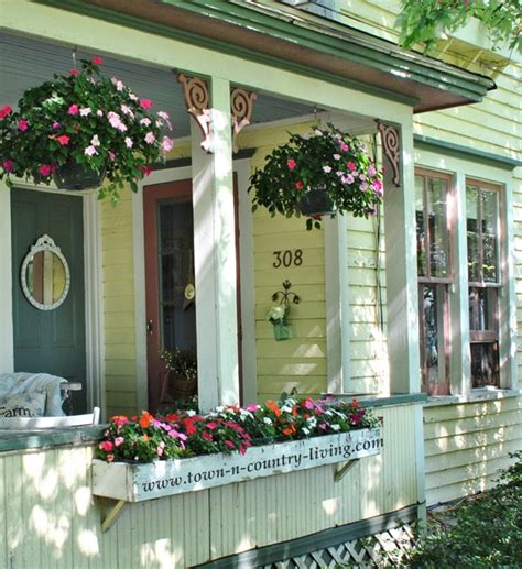 Summer Farmhouse Porch Decorating Ideas Town Country