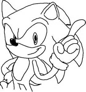 Sonic Pencil Drawing