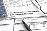 Photos of Claim For Disability Insurance Benefits