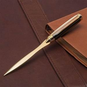 apprentice letter opener kit pens and projects With woodturning letter opener kits