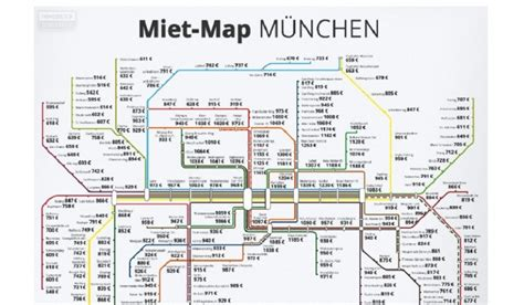 Englischer Garten Nearest Station by Apartment Rent Rate Map Of Munich By Stop