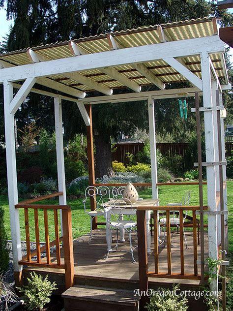 Diy Backyard Canopy by Backyard Gazebo Progress An Oregon Cottage