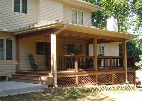 Оформление террасы загородного дома