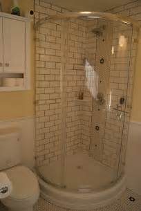 Ceramic Tile Corner Showers