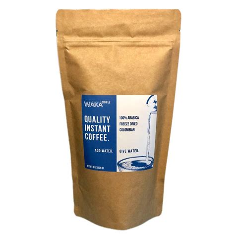 Unlike other instant coffee, here you do not even need to stir. Best Instant Coffee of 2020 - MyFriendsCoffee