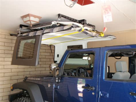 racor ceiling storage lift jeep hoist for top