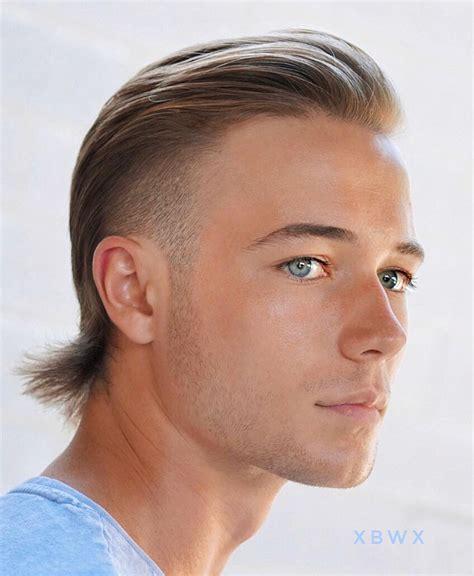 Get Mens Short Mullet Hairstyles PNG