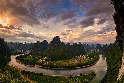Guilin Yangshuo China River Li County Travel