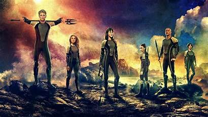 Hunger Games Fire Wallpapers Catching Cast 1080p