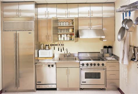 kitchen cabinets stainless steel stainless steel kitchen cabinets steelkitchen 6403