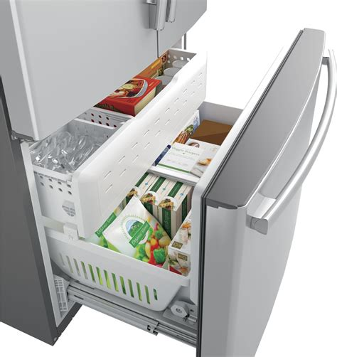 ge refrigerator ice machine light blinking shelly lighting