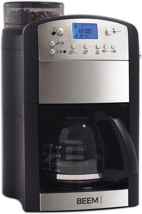 beem kaffeemaschine mit mahlwerk fresh aroma perfect