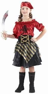 Faschingskostüme Kinder Mädchen : piraten kinderkost m f r m dchen schwarz rot goldfarben kost me kost m piraten und piraten ~ Frokenaadalensverden.com Haus und Dekorationen
