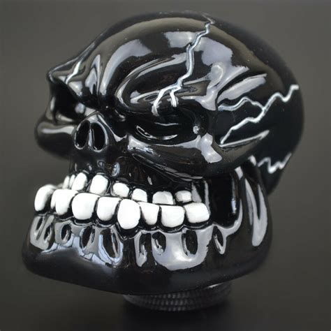 Cool Stick Shift by New Cool Skull Type Manual Car Gear Stick Shift