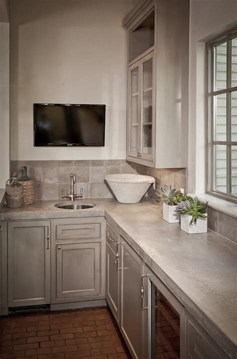 Countertops And Cabinets By Design - kitchen cabinets with concrete countertops design ideas