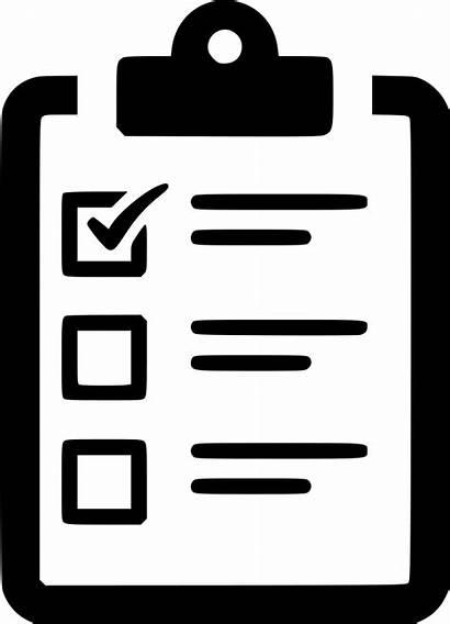 Icon Checklist Task Clipboard Svg Poll Onlinewebfonts