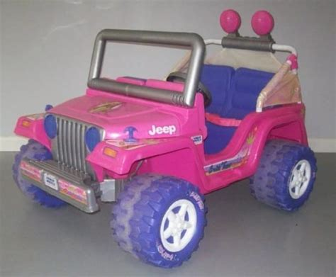 barbie jammin jeep he tears apart an old barbie power wheels jeep days later