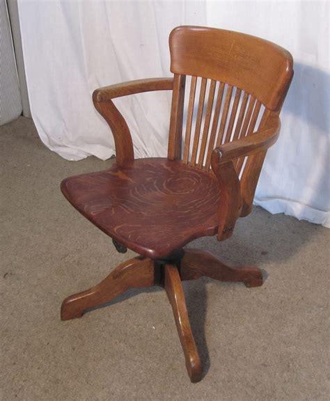 antique desk chair edwardian oak office or desk chair antiques atlas