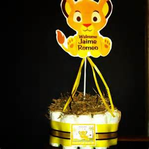 Lion King Centerpieces Baby Shower