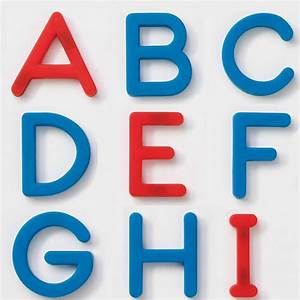 ezreadtm plastic magnetic letters set uppercase With big plastic letters