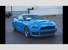 Grabber Blue Roush Ford Mustang 2017 YouTube