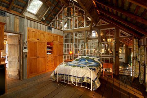 repurposed tobacco barn honeybrook pa rustic bedroom