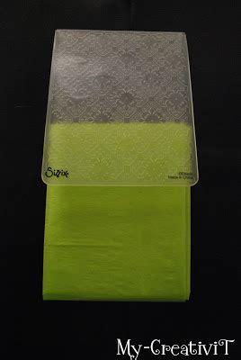 creativit diy embossed tissue paper