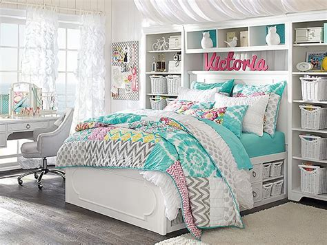 I Love The Pbteen Shelby Sunset Beach Bedroom On Pbteen