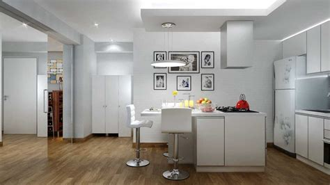 and green kitchen project small apartment at greenbay pluit desain arsitek 6258