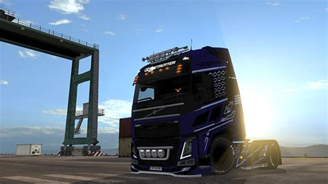 cyberrior paintjobs  volvo fh euro truck simulator