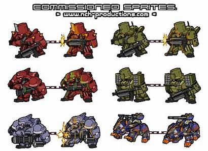 Mech Sprites Nch Newgrounds Games Author Some