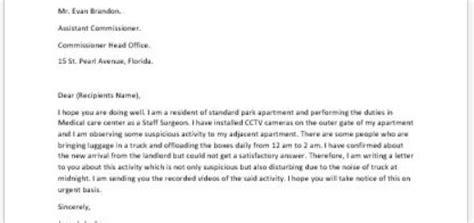 complaint letter   worker  colleague