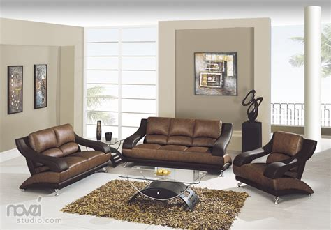 color for living room with brown furniture best paint warm