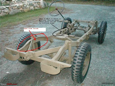 Difference In Chassis Design Of Army V/s Regular 4wd