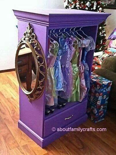 diy dresser turned princess wardrobe children stuff