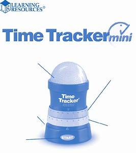 Learning Resources Time Tracker Mini Timer Operation