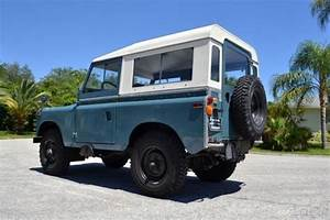 1970 Land Rover Series Iia 88 2286cc 4 Cylinder Engine