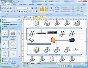 Software Aplikasi Menggambar Topologi