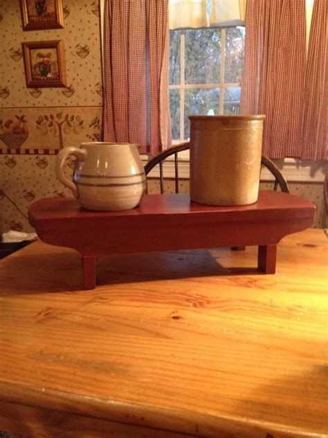 primitive table riserwood hand crafted bench