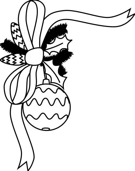 free christmas clip art black and white clipart panda