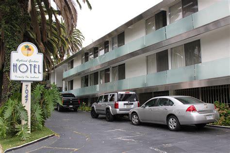 """The former """"Landmark Motor Hotel"""" where Janis Joplin died ..."""