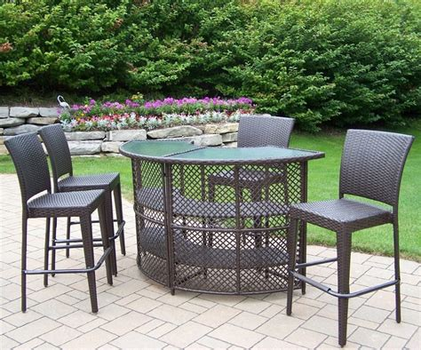 pub height patio table furniture patio bar sets outdoor bar furniture patio