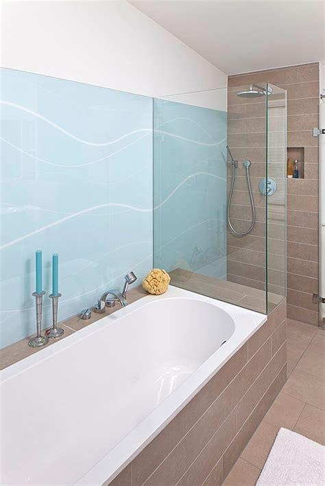 Dusche Glaswand Statt Fliesen  My Blog