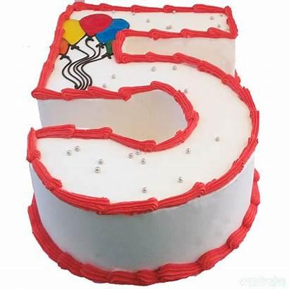 Cream Ice Number Cakes Cake Shaped Sydney